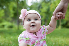 Cute baby-girl Stock Image