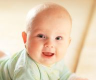 A cute baby girl Stock Photos
