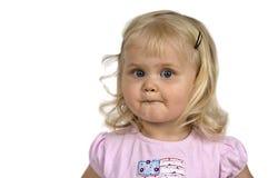 Cute baby girl. Stock Photos
