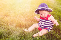Cute baby girl Royalty Free Stock Photography