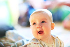 A cute baby girl Royalty Free Stock Images