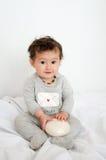 Cute baby   girl happy Stock Photos