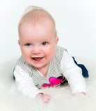 Cute baby girl isolated Stock Photo