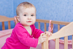 Cute baby girl Royalty Free Stock Photos