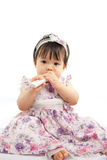 Cute baby girl Stock Photos