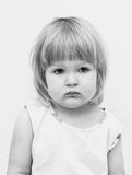 Cute baby girl's portrait. Royalty Free Stock Image