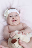 Cute baby girl Royalty Free Stock Image