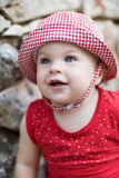 Cute Baby Girl - very shallow depth of field Royalty Free Stock Image
