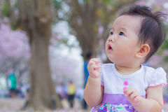 Cute baby happy Stock Images