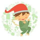 Cute baby illustration Stock Photo