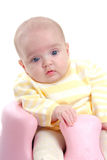 Cute baby isolated Royalty Free Stock Images