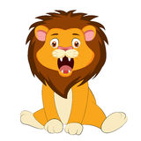 Cute baby lion. Of vector Royalty Free Stock Photography