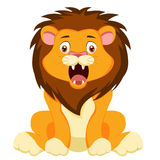 Cute baby lion. Of vector Stock Photo