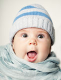 Cute Baby. Little Baby Royalty Free Stock Photo