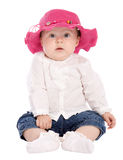 Cute baby looking to camera Royalty Free Stock Photography