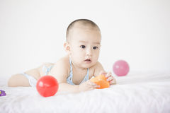 A cute baby Stock Photo