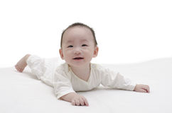 Cute baby lying Royalty Free Stock Photography