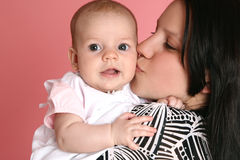 Cute baby with mother Royalty Free Stock Photo