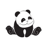 Cute baby panda Royalty Free Stock Photography