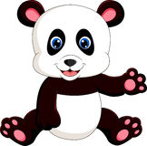 Cute baby panda Stock Photos