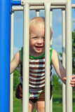 Cute Baby at Playground Stock Photo