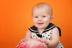 Cute Baby Playing Stock Images