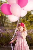Cute baby playing Royalty Free Stock Photo