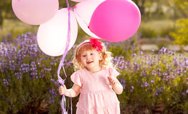 Cute baby playing Royalty Free Stock Photos