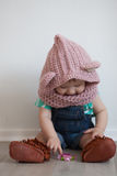 Cute baby playing Royalty Free Stock Image