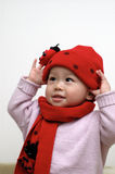 Cute baby portrait. It is a cute chinese baby Stock Photo