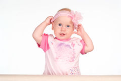 Cute baby portrait Stock Photography
