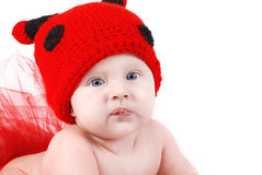 Cute baby portrait Stock Image