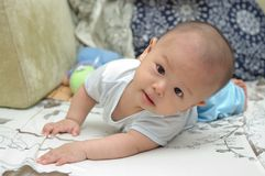 Cute baby portrait Royalty Free Stock Photo