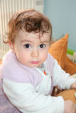 Cute baby portrait Royalty Free Stock Photos