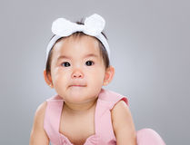 Cute baby portrait Royalty Free Stock Images