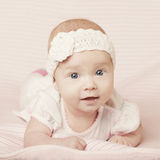 Cute baby portrait Stock Photo