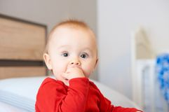 Cute baby. Royalty Free Stock Images