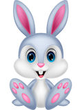 Cute baby rabbit cartoon Stock Photo
