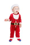 Cute baby santa Royalty Free Stock Image