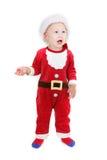 Cute baby santa Royalty Free Stock Image
