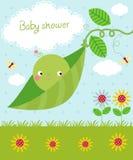 Cute baby shower Stock Photo