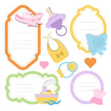Cute baby shower Royalty Free Stock Images