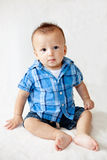 Cute baby sitting up Royalty Free Stock Photo