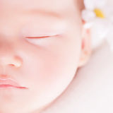 Cute baby sleeping Royalty Free Stock Images