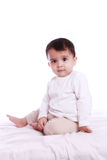 Cute baby staring Royalty Free Stock Images