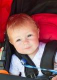 Cute Baby in a stroller Stock Photos