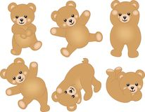 Cute Baby Teddy Bear Royalty Free Stock Photography