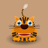 Cute baby tiger Stock Photos