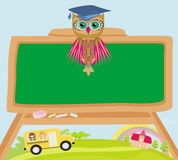 Cute back to school illustration Stock Images