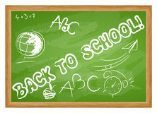 Cute back to school illustration Stock Photo
